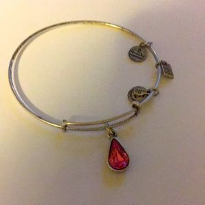 Alex and Ani pink living water bracelet